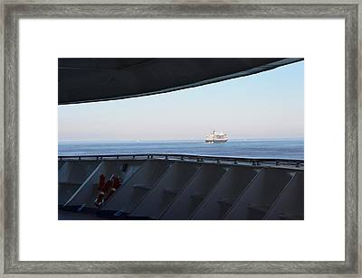 The View Out There Framed Print