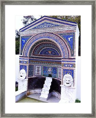The Villa Framed Print by Paul Washington