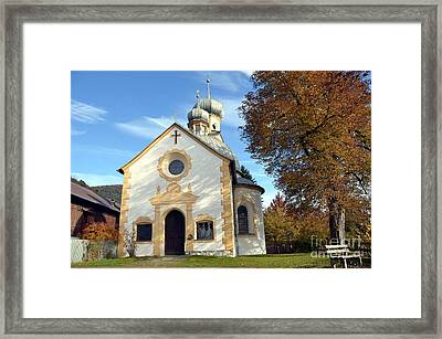 The Virgin Mary Church In Austria  Framed Print