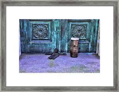 The Voodoo Doll Framed Print by Paul Ward
