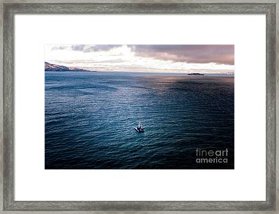 The Voyagers Framed Print by Venura Herath