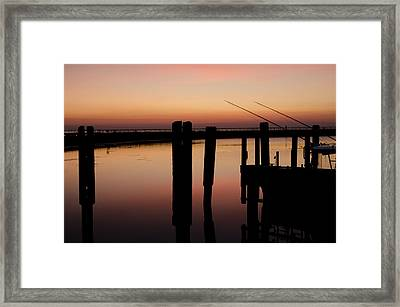 The Wait Framed Print by Jason Naudi Photography