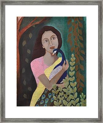 The Wait Framed Print by Kavitha Harikumar