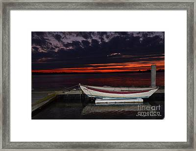 The Wait Framed Print by Margaret Palmer