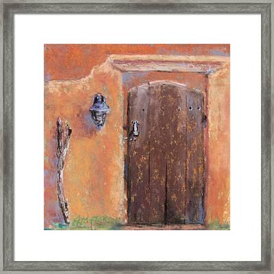 The Walking Stick Framed Print by Julia Patterson