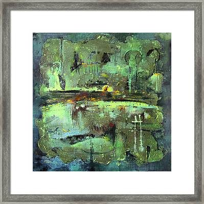 The Wall Framed Print by Lolita Bronzini