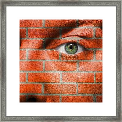 The Wall Framed Print by Semmick Photo