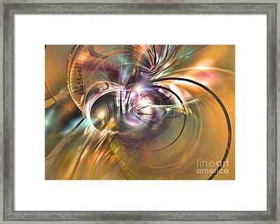 The Warm Quiet Moment Framed Print