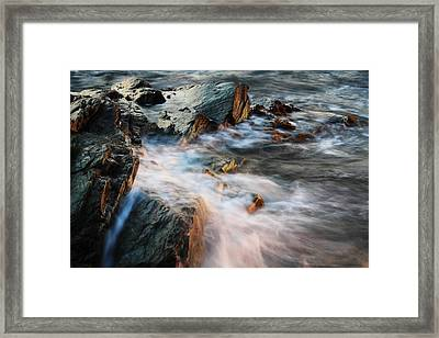 The Wash Framed Print by Andrew Pacheco