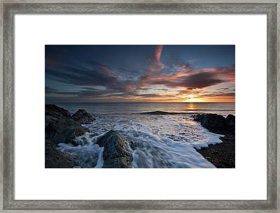 The Wash At Dawn Framed Print