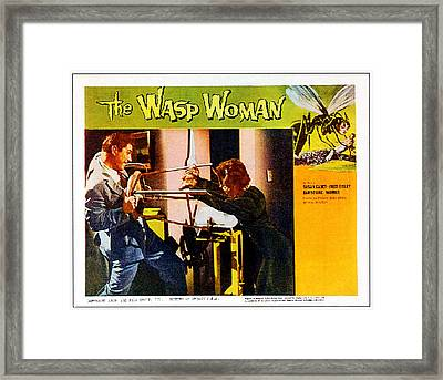 The Wasp Woman, From Left Anthony Framed Print by Everett