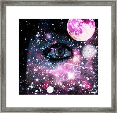 The Watcher Framed Print by Ester  Rogers
