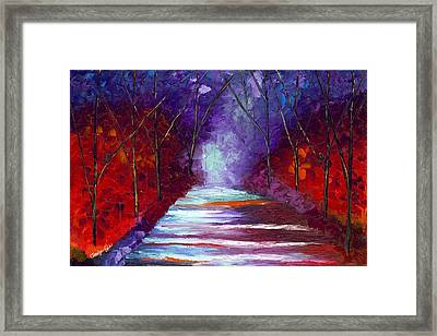 The Watchers Framed Print by Jessilyn Park
