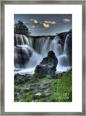 The Watchman Framed Print by Bob Christopher