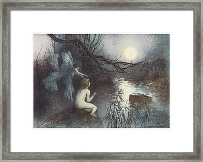 The Water Babies Framed Print by Warwick Goble