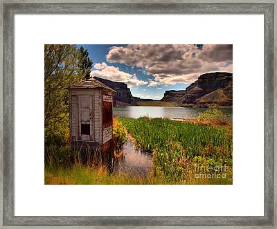 The Water Shed Framed Print by Tara Turner