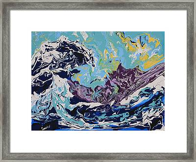 The Wave After Hokusai Framed Print