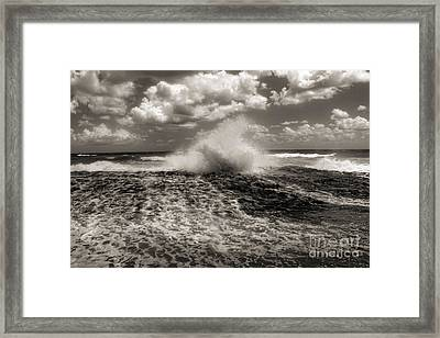 The Wave Framed Print by Jeff Breiman