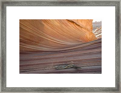 The Wave Rock Formation, Arizona, Usa Framed Print by Bob Gibbons