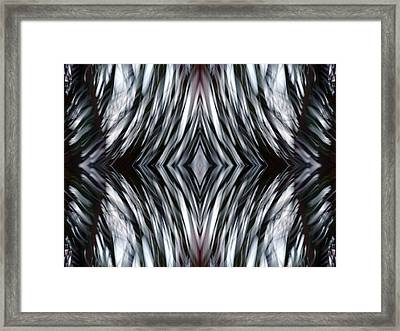 The Waves Framed Print by Danny Lally