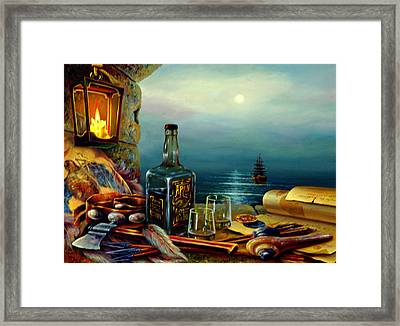 The Way Of The Dream Framed Print by Aron Chervin