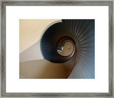 The Way To The Light Framed Print
