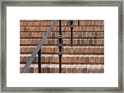 The Way Up Framed Print by Dan Holm