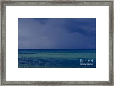 The Weather Is Changing Framed Print by Heiko Koehrer-Wagner