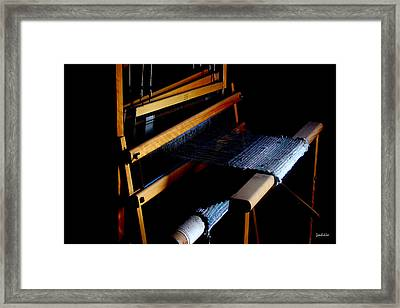 The Weavers Loom Framed Print by Stephen Paul West
