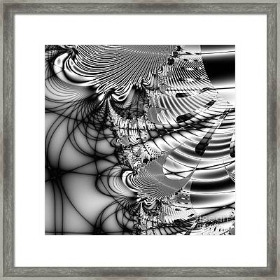 The Web We Weave . Square Framed Print