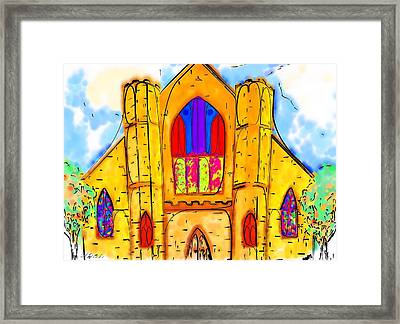The Wedding Chapel Framed Print by Alec Drake