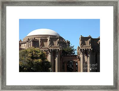 The Weeping Maidens Of The San Francisco Palace Of Fine Arts - 5d18305 Framed Print by Wingsdomain Art and Photography