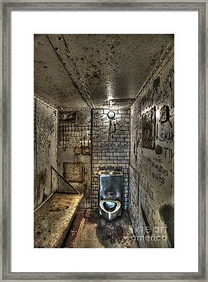 The West Virginia State Penitentiary Cell Framed Print by Dan Friend