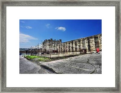 The West Virginia State Penitentiary Courtyard Outside Framed Print by Dan Friend