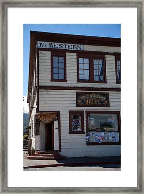 The Western Framed Print by Joe Fernandez