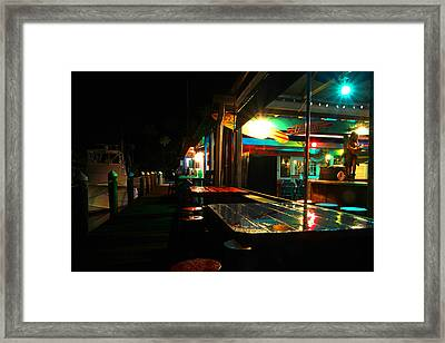 The Wet Bar Framed Print by Jose Rodriguez