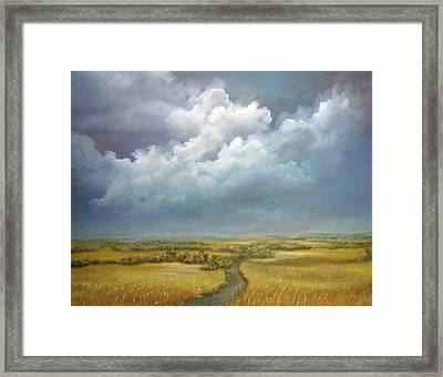 The Wheat Field Framed Print