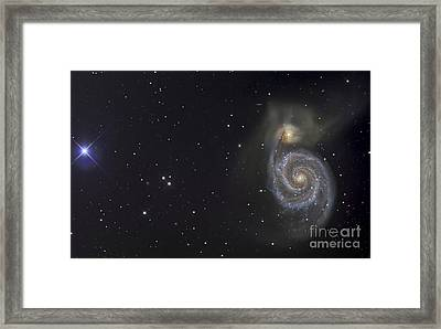 The Whirlpool Galaxy Framed Print by R Jay GaBany