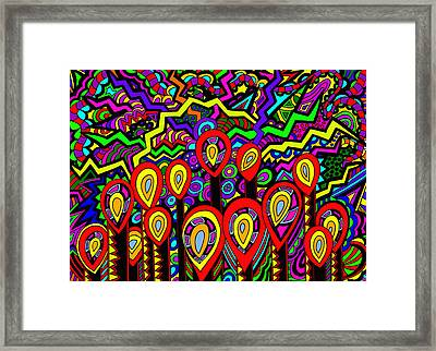 The Wick Has Been Lit Framed Print