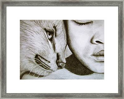 The Wild And The Innocent Framed Print by Ana Leko Nikolic