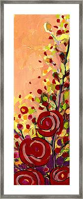 The Wild Roses Framed Print by Jennifer Lommers