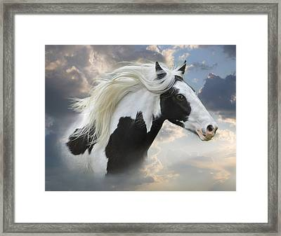 The Willow In The Wind Framed Print