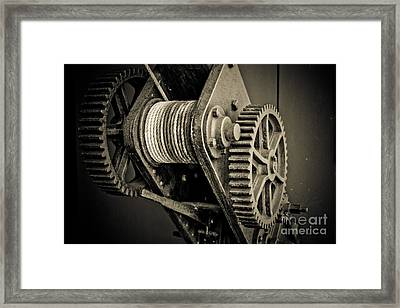 The Winch Framed Print by John Buxton