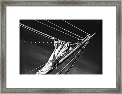 The Wind Not Caught Framed Print by Ryan Weddle