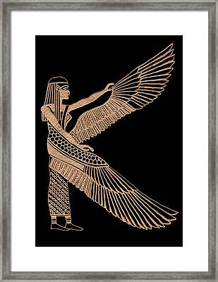 The Winged Isis Framed Print by Jim Ross