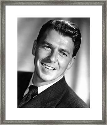 The Winning Team, Ronald Reagan, 1952 Framed Print by Everett