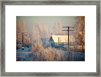 The Winter Country Framed Print by Nikolay Krusser
