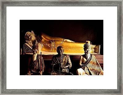 The Wisdom Of Four Framed Print by Dean Harte