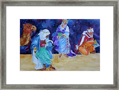 The Wisemen Framed Print by Suzy Pal Powell