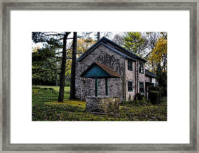 The Wishing Well Framed Print by Bill Cannon